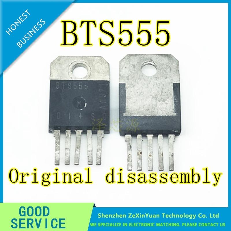 10PCS/LOT BTS555  555 TO-3P Original Disassembly
