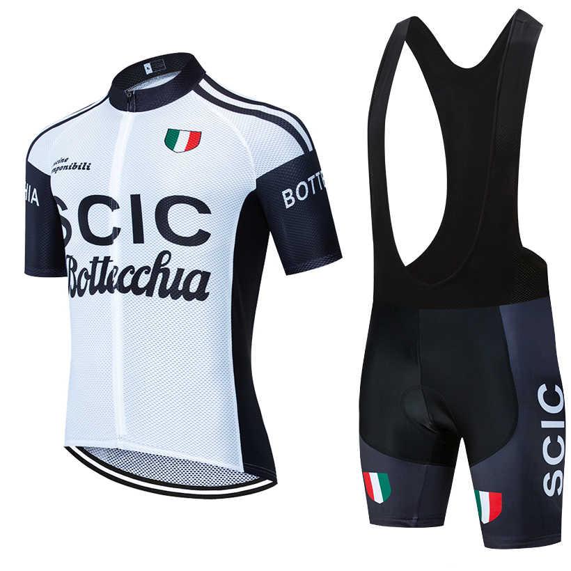 Hombres Ropa de Ciclismo Bicicleta de carretera mountion Bike Jersey Ciclismo Camiseta Y Cortos Set