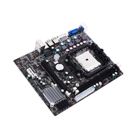 LGA1366 RJ45 Interface Computer Motherboard Easy Install DDR3 A55 CPU SATA II USB 2.0 PCI Accessories High Performance