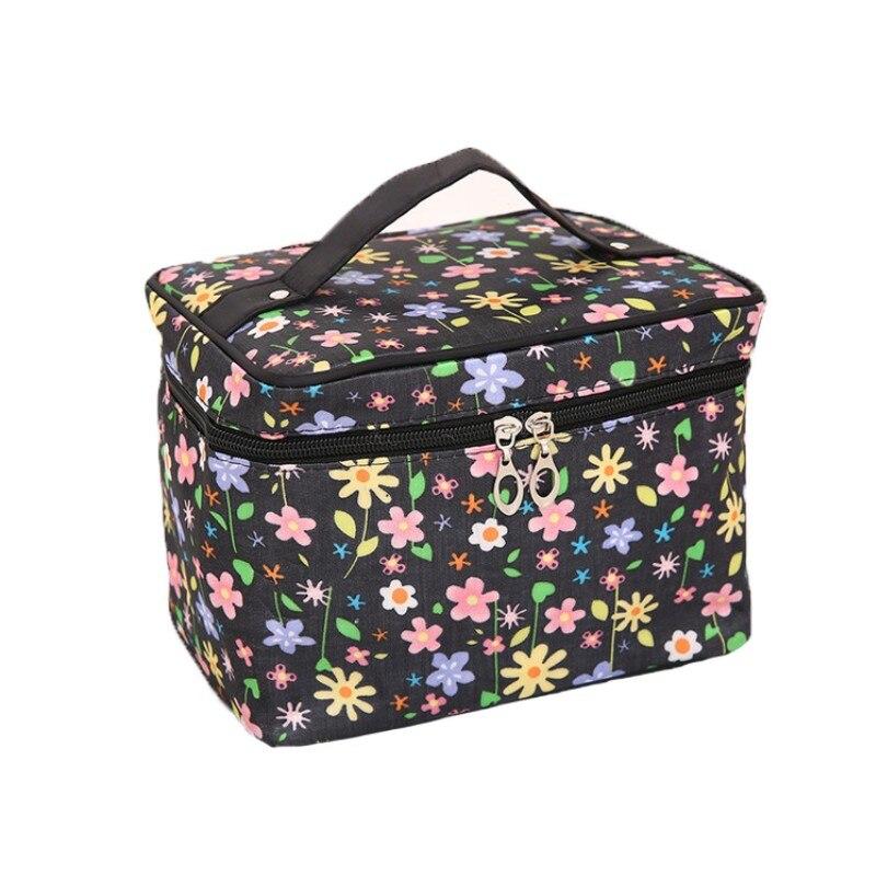 Zipper Pouch Travel Cosmetic Bag For Wash Make Up Box Portable Women Makeup Bag Organizer For Handbag Beauty Toiletry Kit Case