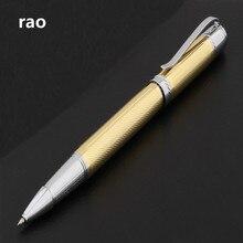 Pen Ball-Point-Pens Rollerball Golden Stationery-Supplies 520 Business Office School