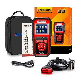 Image 2 - Scanner automatico OBD2 KONNWEI KW850 Scanner lettore di codice universale strumento diagnostico multilingue OBD 2 Scanner automatico