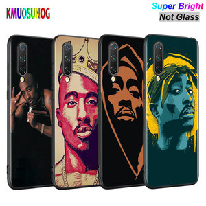Black Silicone Cover 2pac Tupac Shakur for Xiaomi Mi A3 A2 A1 5X 6X 6 8 Lite 9 9SE CC9 F1 9T 9TPro Play Phone Case