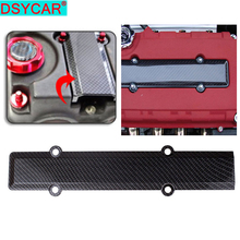 1Set ABS Carbon Fiber Spark Plug Cover Engine Insert Valve for Honda