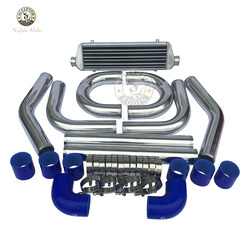 300*160*65mm uniwersalny Turbo Intercooler bar i płyta OD = 63mm przedni uchwyt intercooler