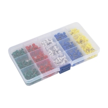 180PCS Color Pushpins 5 Colors Pushpin Set Suitable for Combination Photo Frame and Frame Installation Accessories
