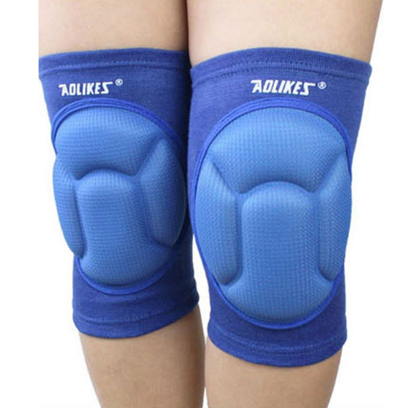 2020 Aolikes Outdoor Thickening Football Knee Pads Brace Support Protector Knee Protector Knee Pad