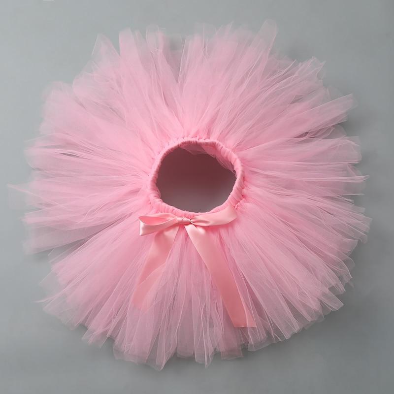 Newbron Baby Girls Skirts Tutu Cute Kids Casual Ruffle Chiffon Mini Tutu Skirt Ball Gown Pettiskirt For Children Party Clothes