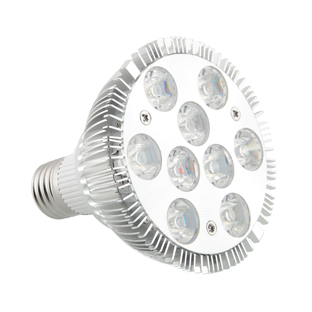 27W Grow Lights AC 85-220V Practical Garden Lights Light Bulb Effective Plant Grow Light Lamp Hydroponic Indoor Flower