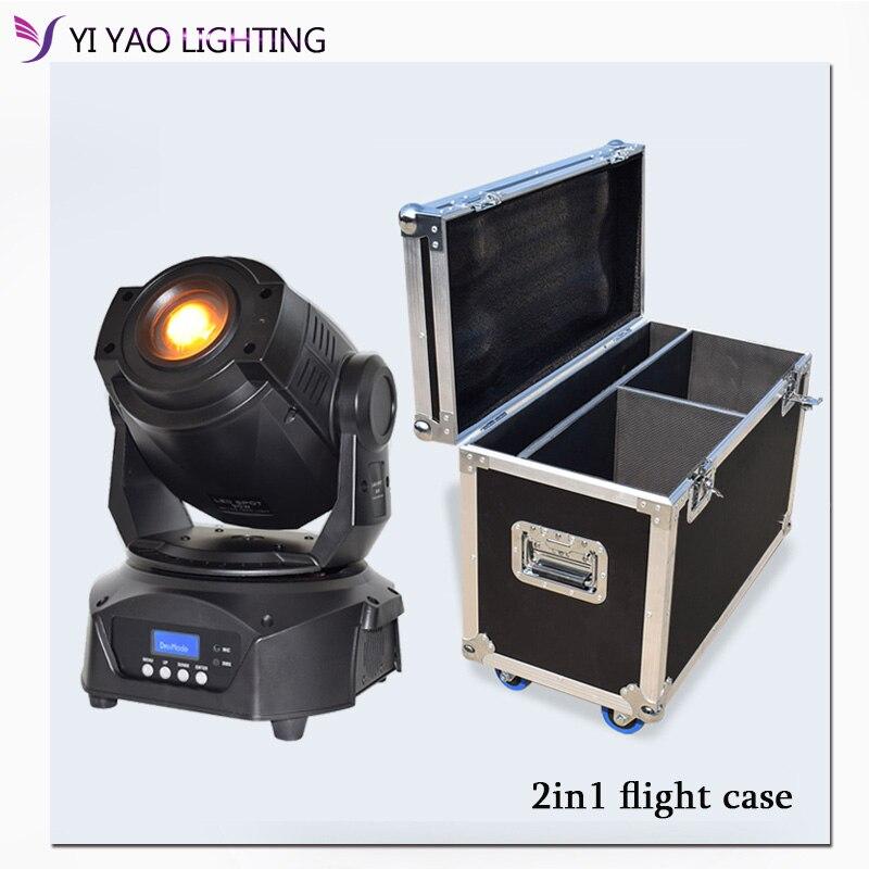 Flight Case Lyre 90w gobo lamp 3 facet prism LED Spot DMX 16CH Moving Head Stage Light for dj bar stage lighting|Stage Lighting Effect| |  - title=