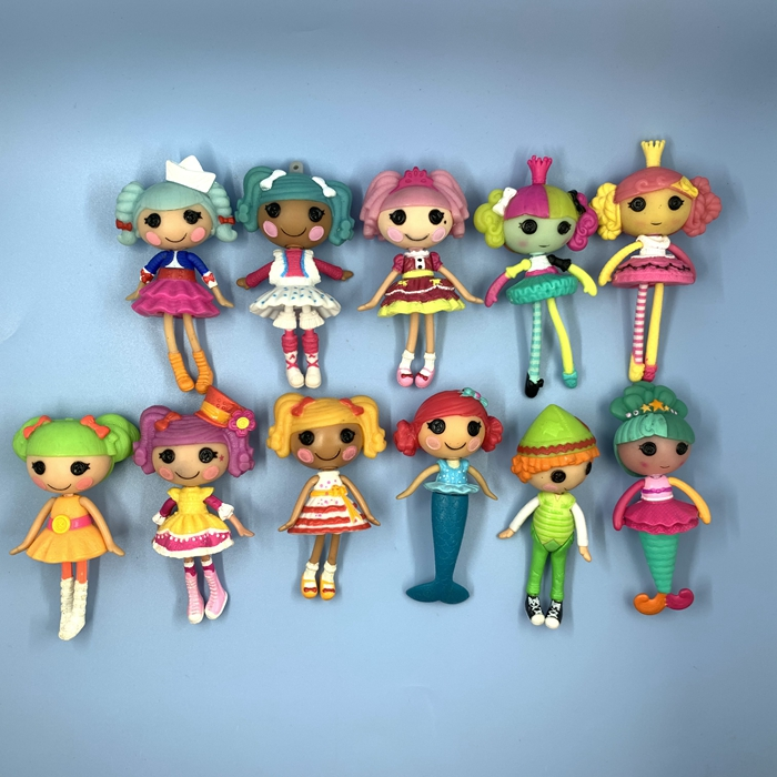 8cm Original  Lalaloopsy Dolls Mini Dolls For Baby's Toy Play House Each Unique