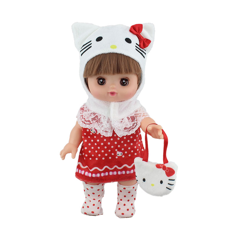 Lovely New Striped Jumpsuit For 25cm Mellchan Baby Doll Clothes Accessories