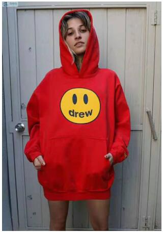 2020 The Drew House Clothes Justin Bieber Hoodies Men/Women Casual Funny Smiley Face Teddy Bear The Drew House Hoodies