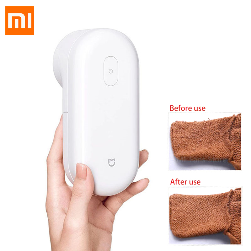 Xiaomi Mijia Clothing Hair Ball Trimmer Lint Remover Sweater Remover Electric Mesh Fuzz Micro USB Rechargeable For Clothes