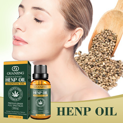 30ml 100% Organic Hemp CBD Oil Bio-active Hemp Seeds Oil Extract Drop for Pain Relief Reduce Anxiety Better Sleep Essence