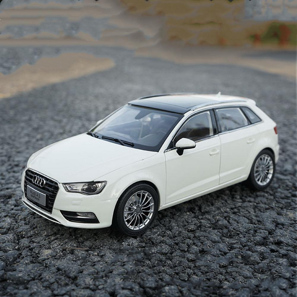 1/18 Scale <font><b>Audi</b></font> <font><b>A3</b></font> Sportback White DieCast <font><b>Car</b></font> Model <font><b>Toy</b></font> Collection Gift image