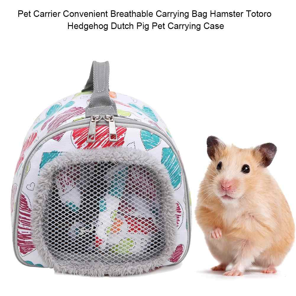 0da39b4b04fe Pet Bag Carrier Breathable Carrying Bag Hamster Totoro Guinea Pig Pet  Carrying Case Home Pet Supplies Accessories For Outdoor