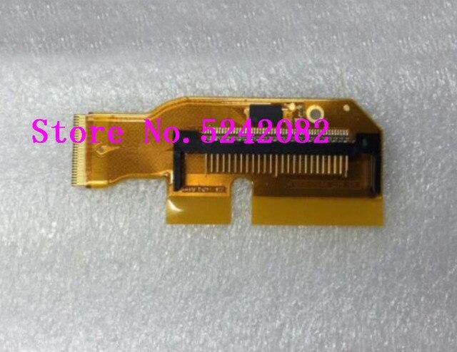 Neue 7D karte slot für canon 7D CF speicher karte slot halten halter bord PCB einheit slr Kamera reparatur teile