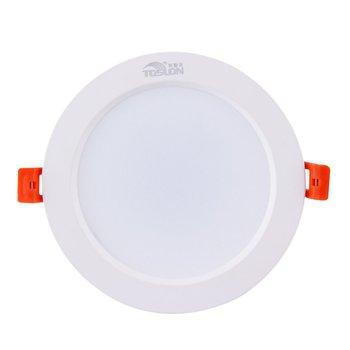 ICOCO 1 szt Czyszczenie magazynu wyprzedaż najniższa sprzedaż wpuszczone W sufit panel dół światło punktowe 7W lampa LED strona główna światło wewnętrzne promocyjna wyprzedaż tanie i dobre opinie Przełącznik Wciskany 90-260 v ZK749600 Łazienka 100 new Pvc plastikowe Oszczędność energii Warm white 13 6cm