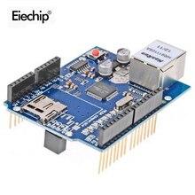 W5100 Placa de desarrollo de red para Arduino Mega2560 UNO R3, escudo Ethernet W5100 Diy electrónica utilizada para conectar a internet