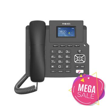 4G voip dwumodowy bezprzewodowy telefon stacjonarny telefon sieciowy Sip telefon ip rozwój telefonu niestandardowy telefon biurowy tanie i dobre opinie Arvin CN (pochodzenie) 2015011603811885 Family Office Medical Hotel Catering 0 627 20*18 2*8