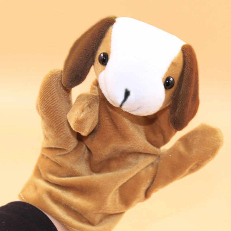 ตุ๊กตาของเล่นเด็กถุงมือเด็กตุ๊กตาของเล่นนิ้วมือมือถุงมือสัตว์น่ารักของเล่นเด็ก Y108
