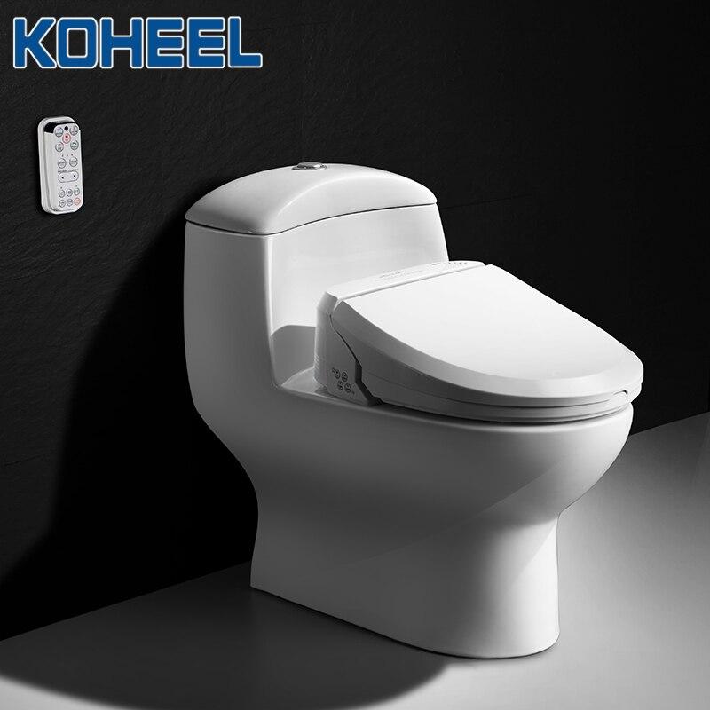 Kotalon Intelligent siège de toilette électrique Bidet couverture chaleur propre Massage sec Smart siège de toilette pour enfant femme le vieux