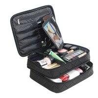 Kosmetik Tasche Ms große Kapazität Doppel schicht Make-Up Taschen Organizer Reise Kosmetikerin Multifunktions große Kapazität Kosmetische Fall