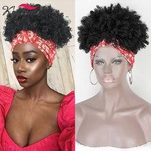 Kryssma шляпа парик афро кудрявый вьющиеся синтетические парики