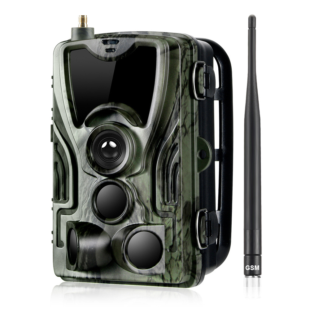 1080P Hunting Trail Camera HC-801M 2G SMS MMS 0.3s Trigger IP65 Waterproof Wildlife Surveillance Camera Wild Hunter Game