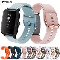 YAYUU 20mm Silicone Watch Strap for Huami Amazfit GTS 2/GTS 2 mini/GTS 2e Bracelet for Amazfit Bip U/U Pro/GTR 42mm Watch Bands 1