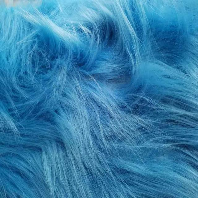 Long Plush Doll Cloth Decoration Imitating Fox Fur Carpet Jewelry Phone Counter Cover Cosplay Artificial 6