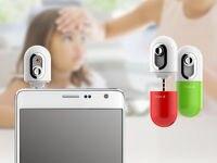 South Korea Plug Mobile Phone Non Contact Smart Infrared Forehead
