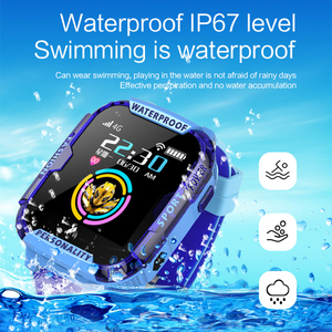 Image 4 - K22 4G لتحديد المواقع ساعة ذكية للأطفال IP68 مقاوم للماء واي فاي مكالمة فيديو كاميرا بمنبه الطفل الاطفال ساعة ذكية الهاتف الأطفال Smartwatch