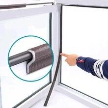 2M Self Adhesive Door Window Sealing Strip Acoustic Foam Soundproof Seal Tape Weather Stripping Door Seal Window Hardware