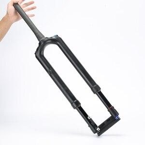 """Image 1 - Fahrrad Carbon Gabel MTB Mountainbike Gabel Air 27,5 29 """"RS1 ACS Solo 15MM * 100 Prädiktive Lenkung suspension Öl und Gas Gabel"""