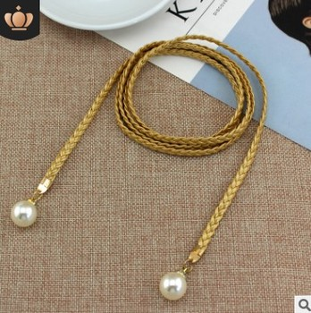 Style Sweet Belt Women Vintage Belt Style Candy Colors Hemp Rope Braid Belt Female Belt For Dress 10