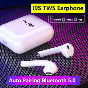 Original i9s TWS Bluetooth Earphone 1:1 In Ear Wireless Headphones Air Stereo Earbuds Sport Handsfree Headset For iPhone Android
