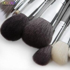 Image 3 - Set di pennelli per trucco Docolor professionale con fondotinta per capelli in polvere naturale ombretto pennello per trucco fard 10 pezzi 29 pezzi