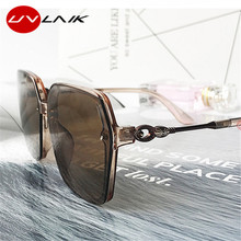 UVLAIK Polarized Sunglasses Women 2020 Oversized Round Vintage Sun Glasses Retro