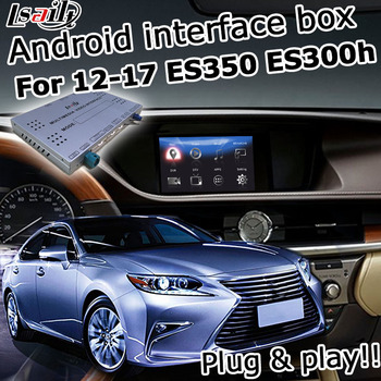 Android / carplay interface box for Lexus ES 2012-2018 8 inches display video interface with GVIF LVDS ES200 ES250 ES300h ES350 image