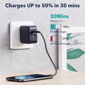 Image 2 - ESRสำหรับLightning Cable MFi Fast Charging Type C USB C To Lightning CableสำหรับiPhone iPad 12 Apple MFI lightning Cableข้อมูล