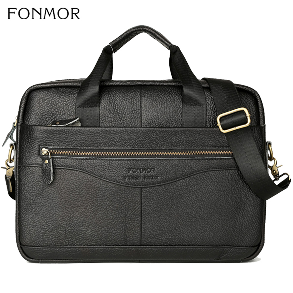 Fonmor Genuine Leather 15.6