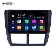 Harsey 2Din Android 10,0 Radio de coche de 9 pulgadas para Subaru Forester 2008-2012 GPS reproductor Multimedia unidad principal Wifi pantalla táctil ESTÉREO