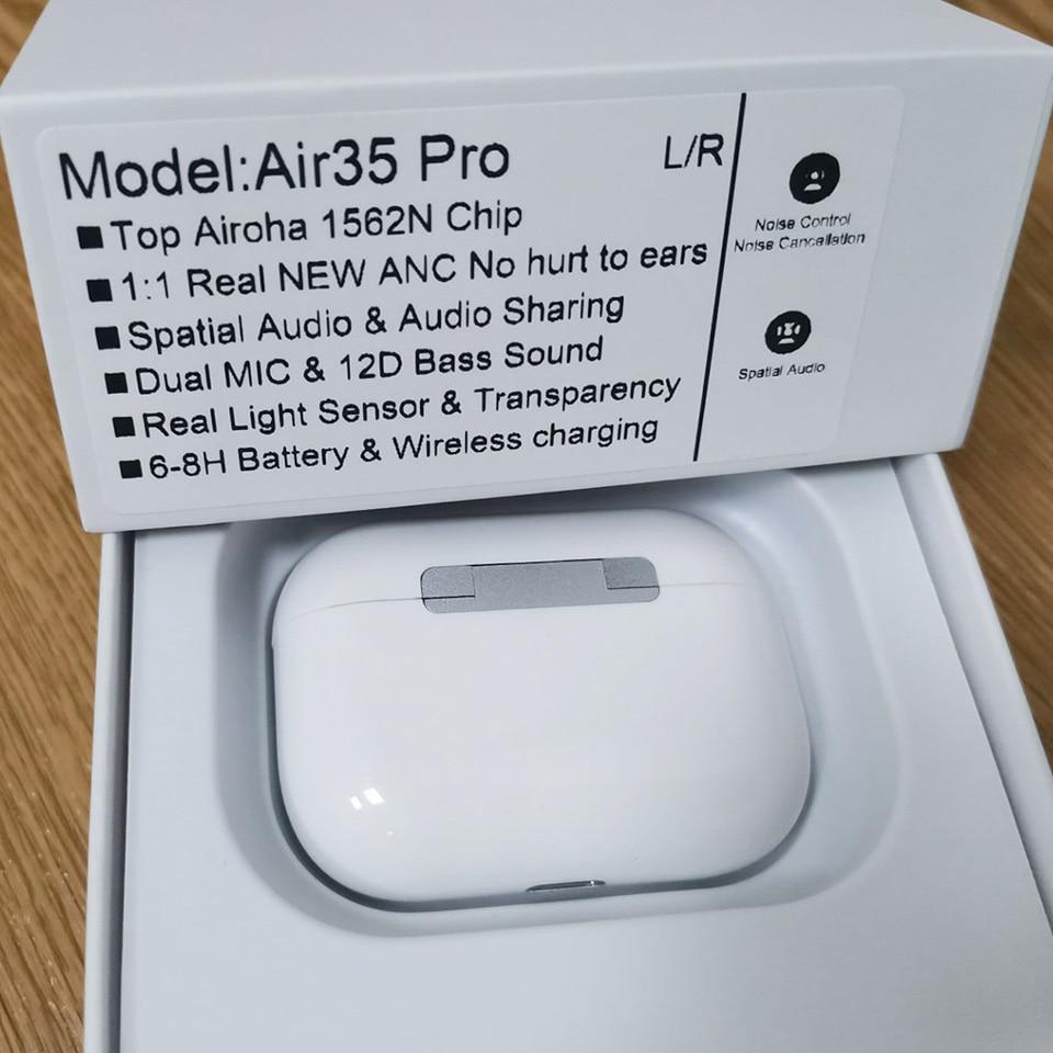Air35 Pro PK Air30 TWS 45DB ANC беспроводные наушники Bluetooth 5,2 наушники-вкладыши с супер басами пространственное Аудио Новый 1562N PK i99999 I500 TWS