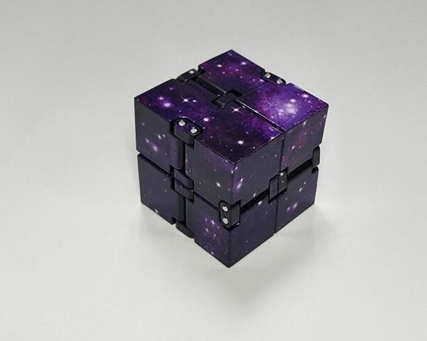 Infinity Cube Mini Toy Finger EDC Anxiety Stress Relief Cube Blocks Children Kids Funny Toys Best Gift Toys for Children 8