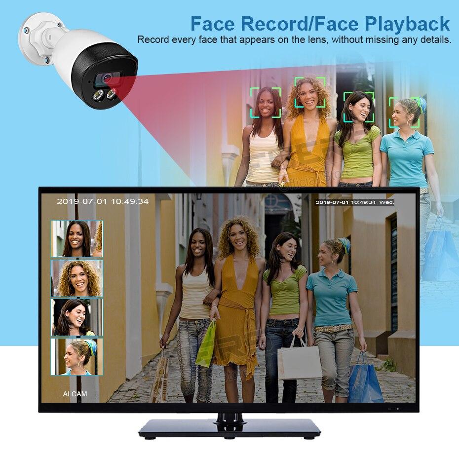 FUERS 8CH NVR POE 5MP Kamera H.265 CCTV System Überwachung System Wasserdichte Outdoor Kamera Sicherheit System Video CCTV HDMI Set