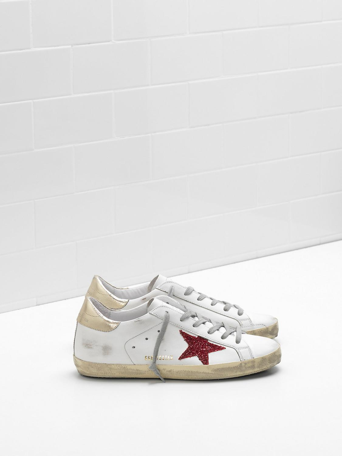 SUPERSTAR Sneakers G32WS590.G63 Upper in calf leather