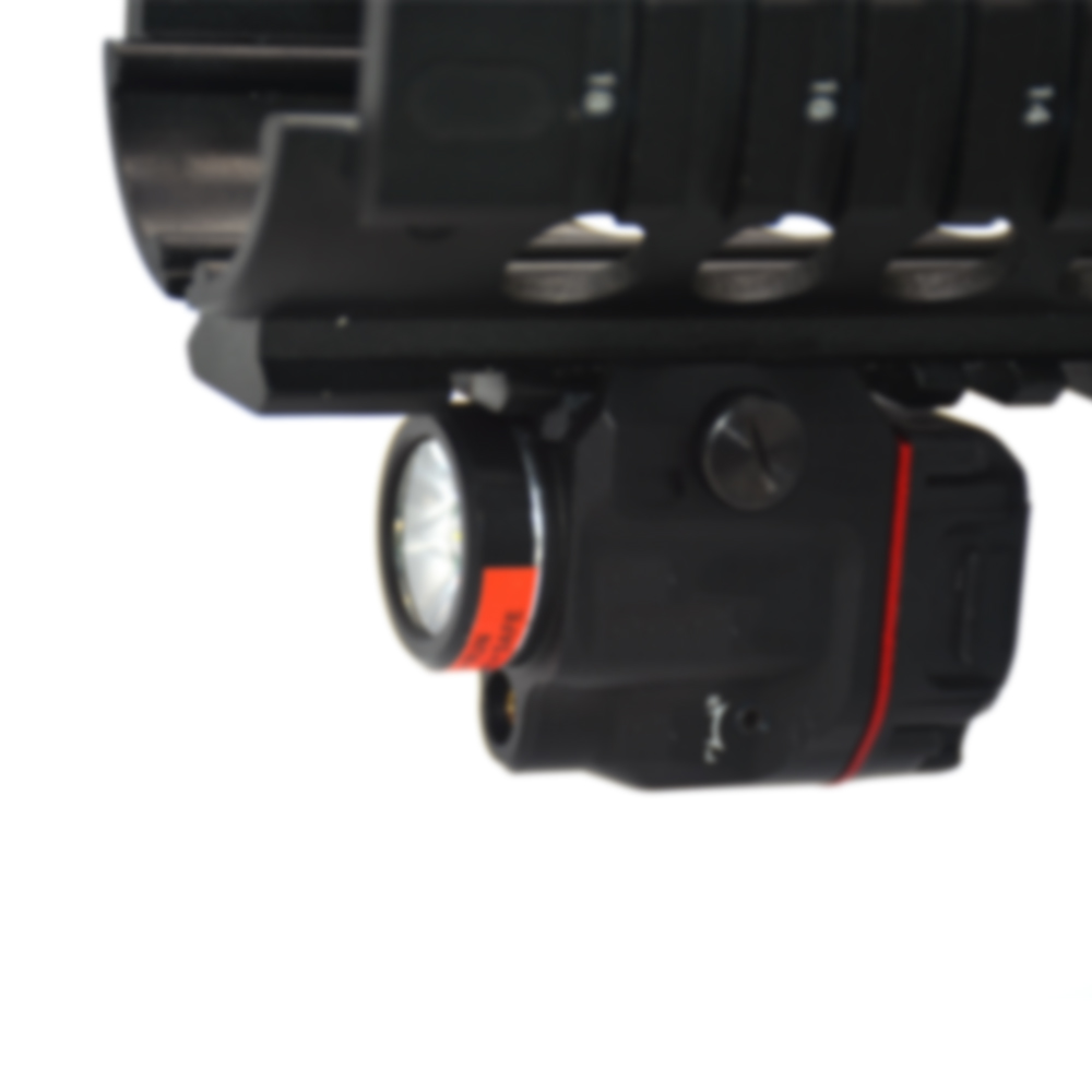 Tactical Tlr Weapon Light LED With Red Green Laser Sight Hunting Gun Flashlight Laser For Rifle Scope Pistol Glock 17 19 SIG CZ-5