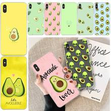 ByLoving Lovely Avocado Customer High Quality Phone Case For iphone 6 6s plus 7 8 plus X XS XR XS MAX 11 11 pro 11 Pro Max Cover byloving gintama anime customer high quality phone case for iphone 6 6s plus 7 8 plus x xs xr xs max 11 11 pro 11 pro max cover